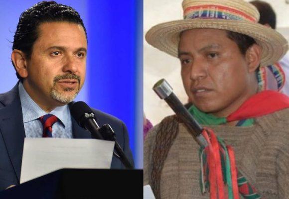 El comisionado de paz perdió su viaje al Cauca