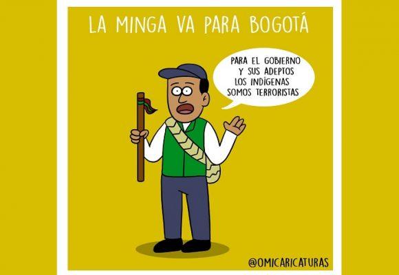 Caricatura: ¿Escuchará el gobierno a los indígenas?