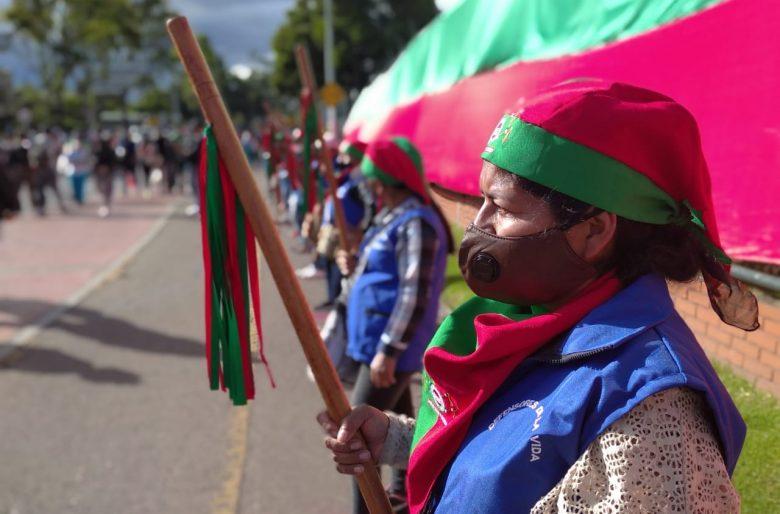 ¡Que viva la minga indígena del Cauca!