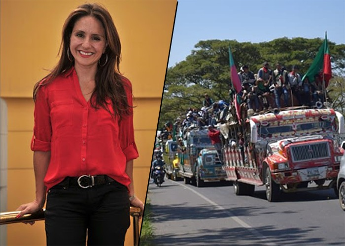 ¿Periodista de Blu Radio propone campo de concentración para indígenas?