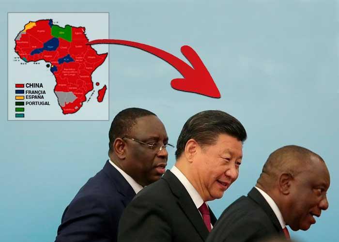 El poderoso presidente chino, Xi Jinping, se queda con el África