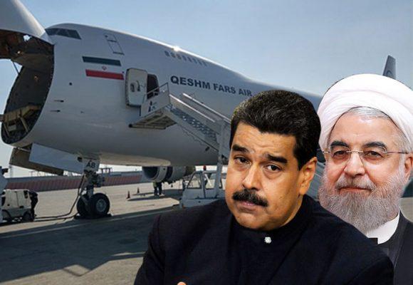 El imponente Boeing 747 iraní que habría llegado con armas a Venezuela