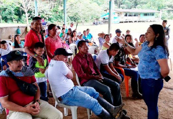Indígenas del Putumayo solicitan restitución de sus territorios