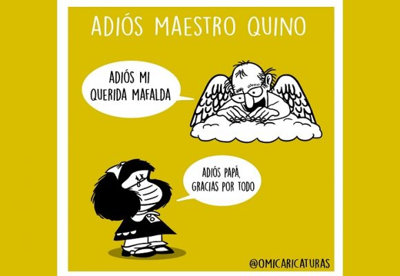 Caricatura: Adiós, maestro Quino