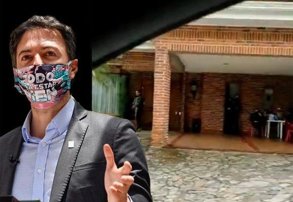 Los ataques uribistas a la casa del alcalde Daniel Quintero