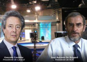 Los presidentes de Caracol y RCN TV arrancan al fin con las grabaciones