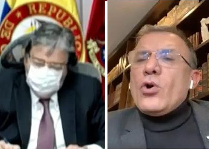 Dura peinada de Roy Barreras al Ministro de Defensa