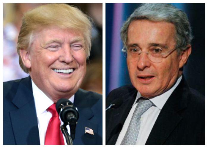 Uribe y Trump, no sean puercos y dejen en paz a mi amada Colombia