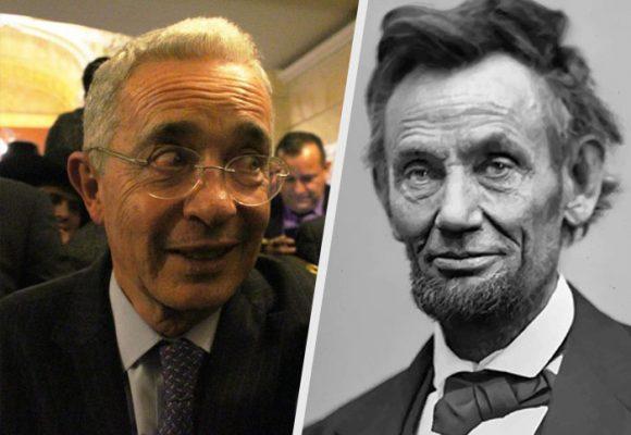 Álvaro Uribe es el Abraham Lincoln colombiano