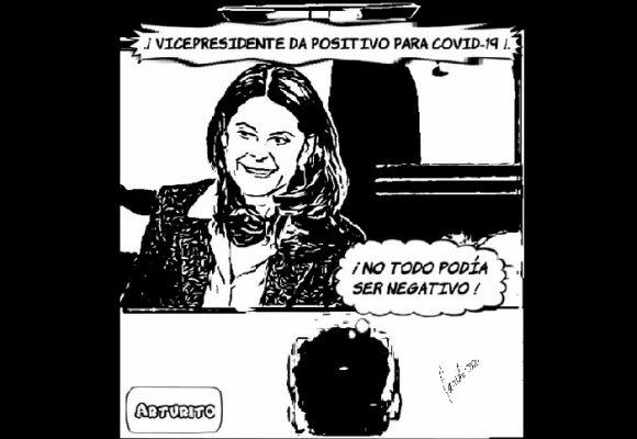 Caricatura: Vicepresidenta positiva