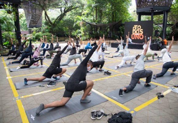 En Medellín avanza la estrategia de yoga para el Esmad, ¿servirá de algo?