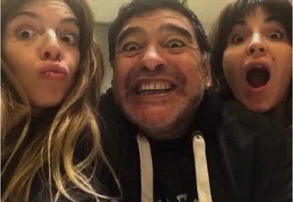 La hija de Maradona advirtió del peligro que corría Diego por sus amistades