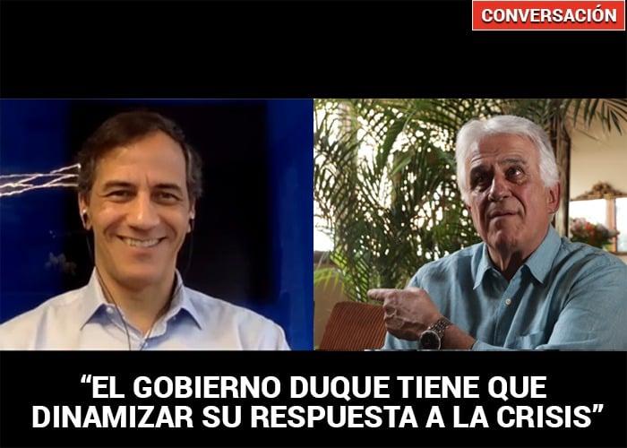Rafael Nieto, precandidato del Centro Democrático, encara la crisis actual