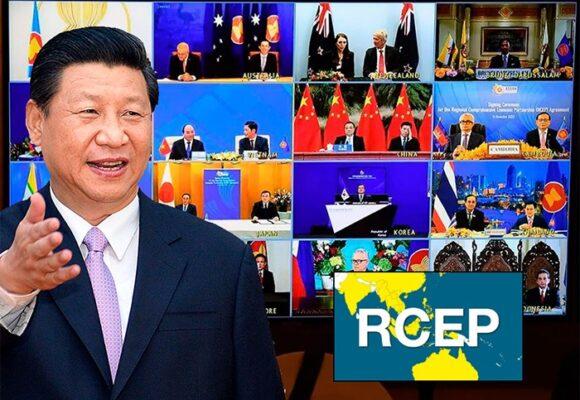 Avanza el plan de globalización de China: 15 países firmaron la alianza