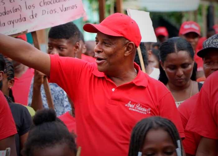 El gobernador de Chocó en la cuerda floja por un contrato de $2.000 millones en pandemia