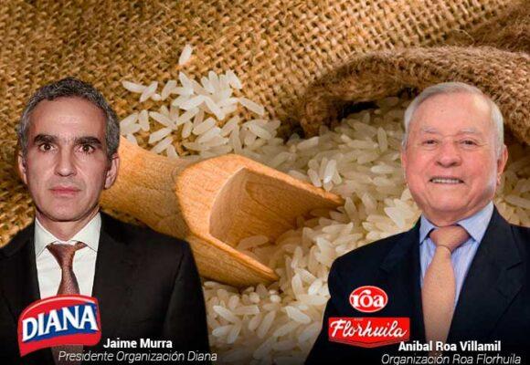 Los grandes del arroz en Colombia