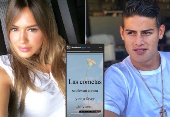El cursi mensaje de Shannon de Lima a James tras goleada de Ecuador