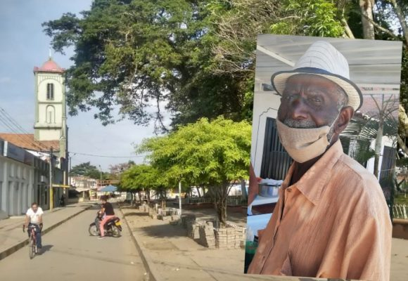 Arturito, el rezandero de Puerto Tejada que cumplió 102 años en el 2020