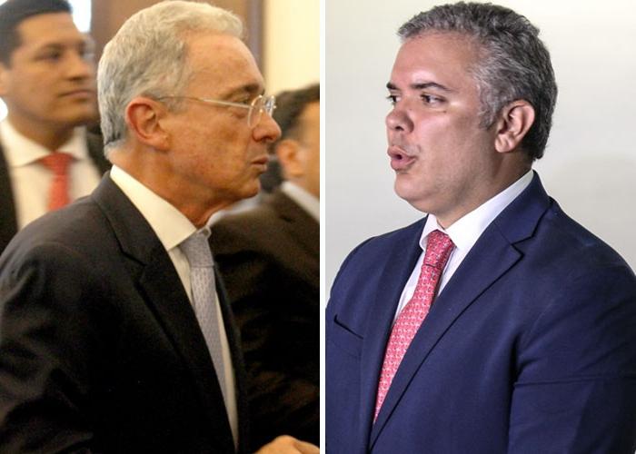 El cariñoso regaño de Uribe al gobierno Duque