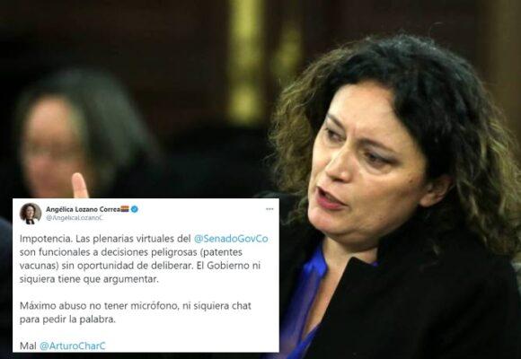 ¿Por qué no dejan hablar a Angelica Lozano en el Congreso?