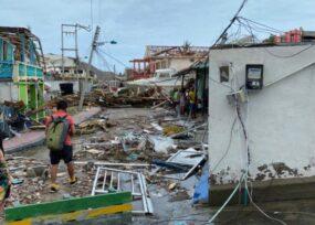 Primeras imágenes de la devastación de Providencia