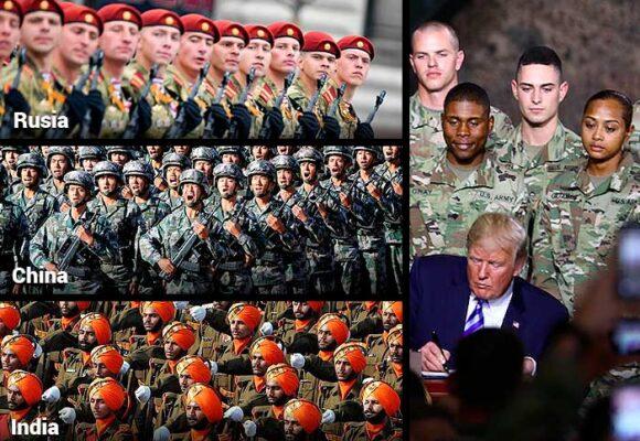 Los cinco ejércitos más fuertes del mundo