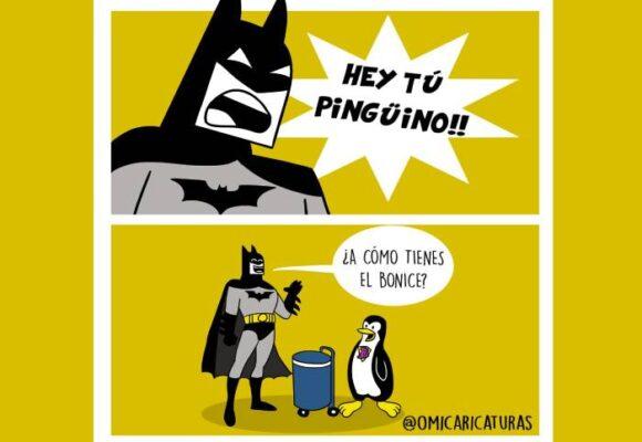 Caricatura: ¡Hey tú, pingüino!