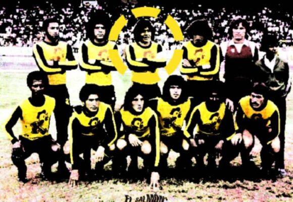 Cuando Maradona se puso la camiseta del Tolima