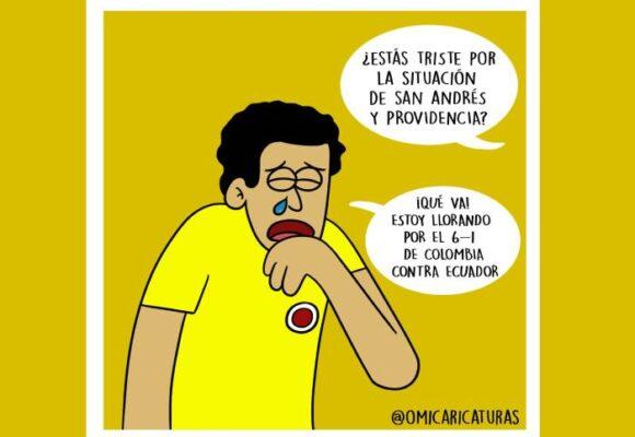 Caricatura: La incoherencia colombiana