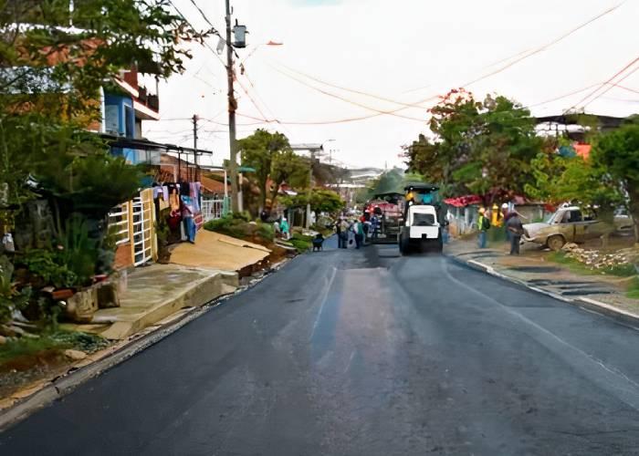 En Santander de Quilichao esperaron más de cuarenta años para ver una vía pavimentada