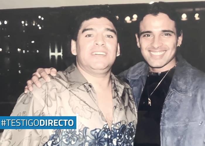 La mano de dios escribió el himno de Maradona