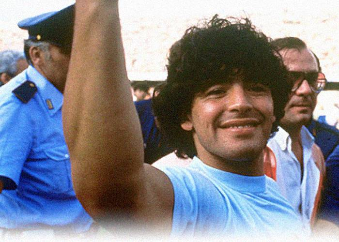 Maradona, de aquí a la eternidad