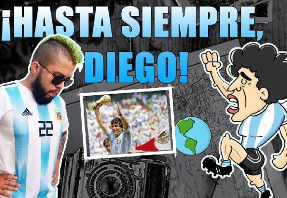 VIDEO: ¡Hasta siempre, Diego!