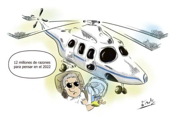 Caricatura: Doce millones de razones para pensar en el 2022