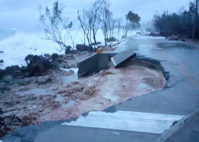 La devastación que dejó el paso del huracán Iota en el archipiélago