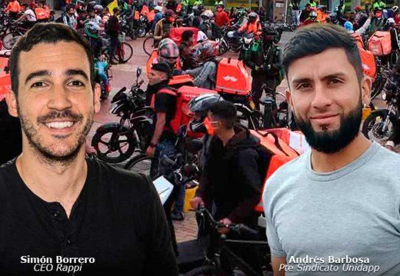 Andrés Barbosa, el repartidor que se le enfrentó al gigante Rappi