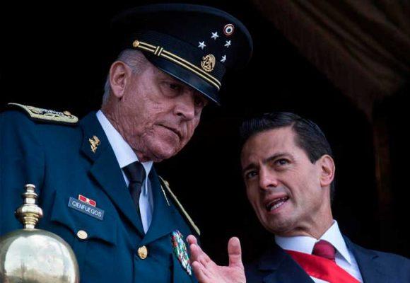 Un narco, 8 años Ministro de defensa del ex Presidente Enrique Peña Nieto