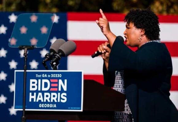 Stacey Abrams: La negra que le dio el triunfo a Biden en Georgia