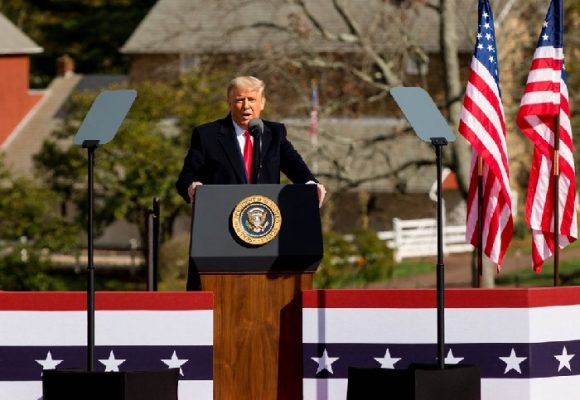Reelección o muerte: Trump, el superhéroe americano, jamás aceptará su derrota
