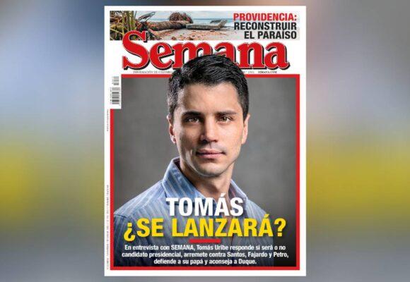 Indignación contra Revista Semana por espaldarazo a Tomás Uribe