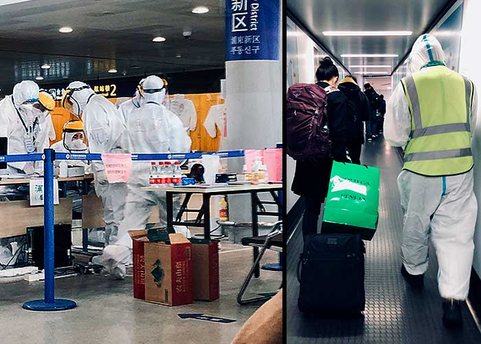 La odisea de entrar a China en tiempos de COVID-19