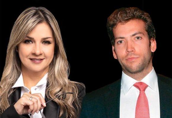 Vicky Dávila arremete contra Martín Santos y defiende a Duque