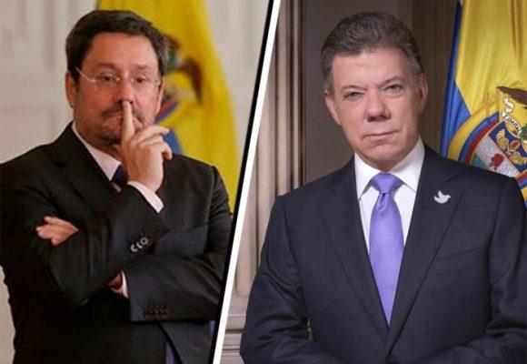 Juan Manuel Santos pide cambio de embajador en Washington