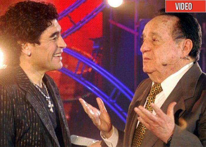 Chespirito, el ídolo máximo de Maradona