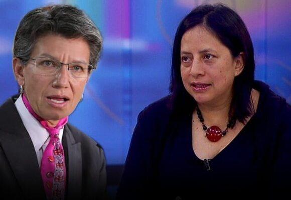 Segunda movida en falso de Adriana Córdoba que golpea a la alcaldesa
