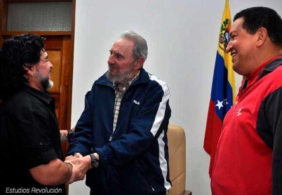 La pasión de Maradona por los dictadores