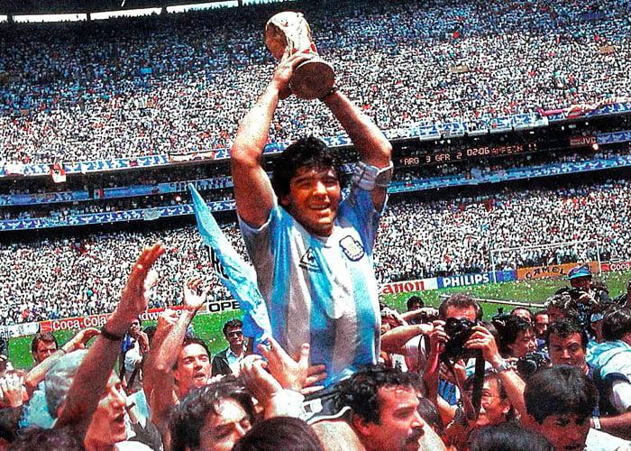 Maradona, un dios de este mundo