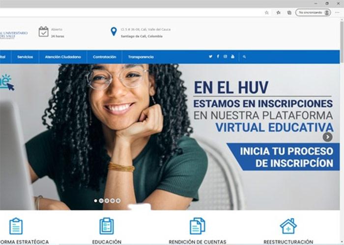El HUV ofrece cursos gratuitos online para personal de salud y ciudadanos