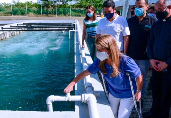 Se inaugura moderna planta de tratamiento de agua en Atlántico