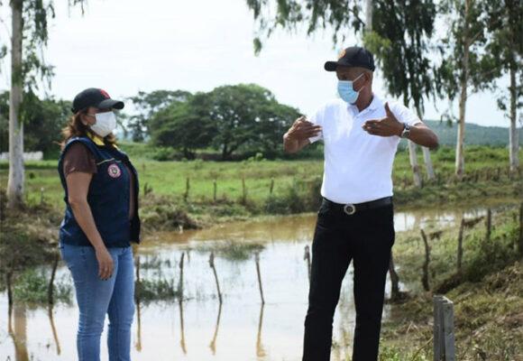 17 municipios del Atlántico afectados por fuertes lluvias